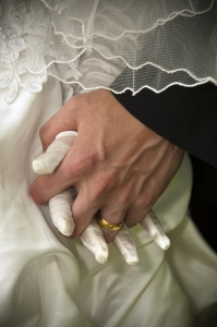 Wedding - holding hand