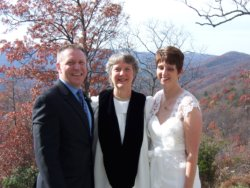 Amicalola Falls wedding