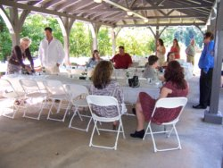 Unicoi outdoor wedding